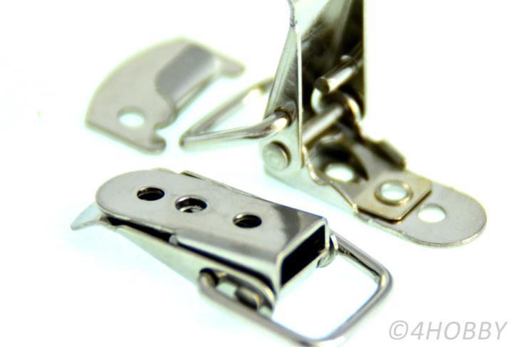 8x Mini-Edelstahl Spannverschluss Breit Verschlüsse Kistenverschluss Verschluss