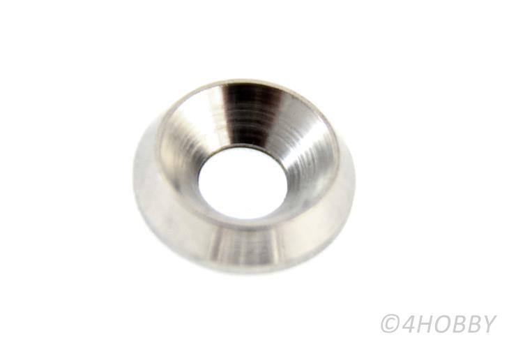 10 acero inoxidable arandelas m6 zierscheiben rosetas tornillos cónico 16x4 mm